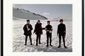 La Galería Johnson celebra con una exposición el aniversario de la visita de The Beatles a Barcelona