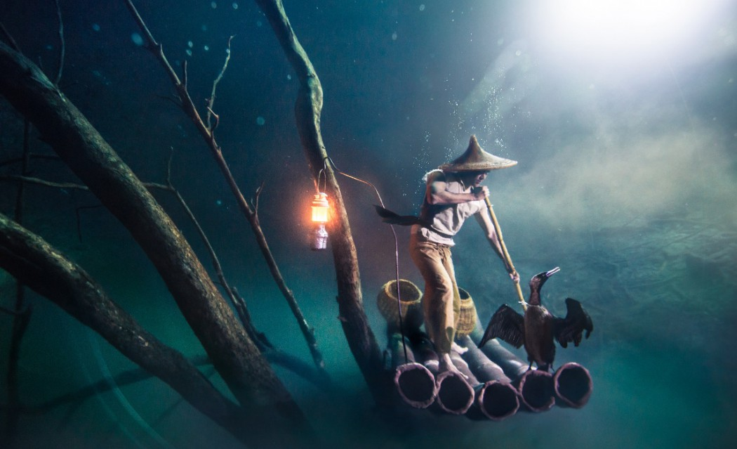 Ballantine's Presents Benjamin Von Wong's Underwater River - Hero Image-2