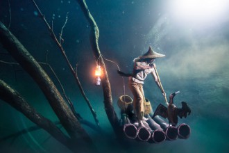 Ballantine's Presents Benjamin Von Wong's Underwater River - Hero Image-2