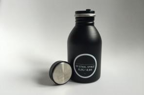 La ecología de las botellas de acero inoxidable de 24Bottles