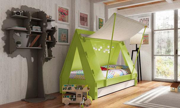 Las habitaciones infantiles para los hijos de padres hipster-1