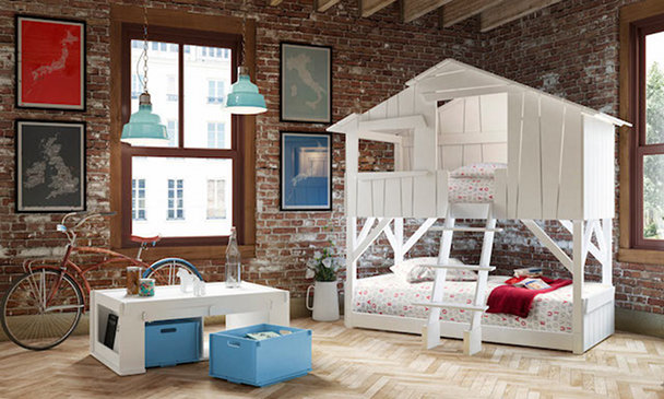 Las habitaciones infantiles para los hijos de padres hipster-3