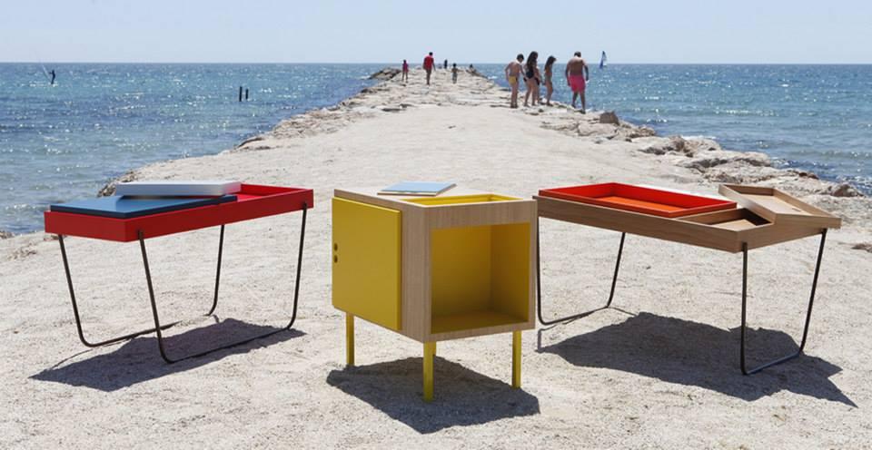 Mesas auxiliares para el salon de diseño 1