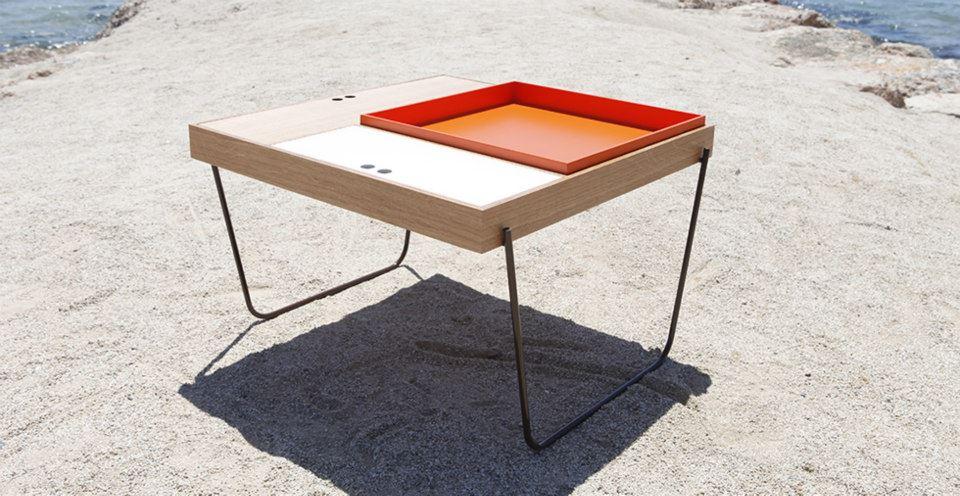 Mesas auxiliares para el salon de diseño 4