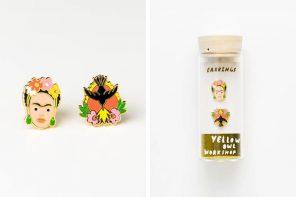Regalos originales para mujeres, llegan los pendientes más creativos ¿Frida Kahlo o cámaras de fotos?