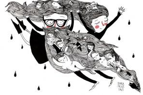 """Sara Fratini: """"Me gustaría ser más como la chica que dibujo"""""""