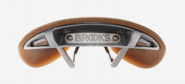 Sillín Brooks C17  bicicleta retro-portada