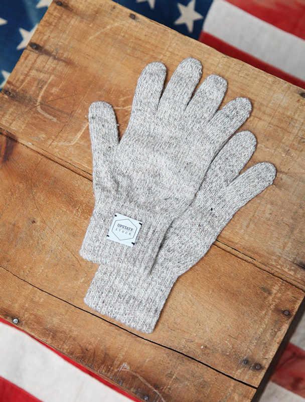 Upstate Stock guantes lana con y sin dedos-13