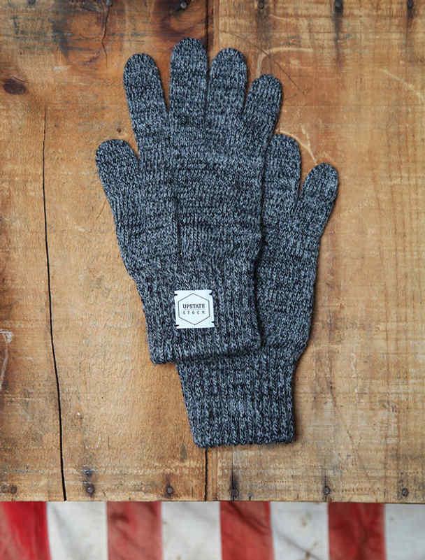Upstate Stock guantes lana con y sin dedos-3