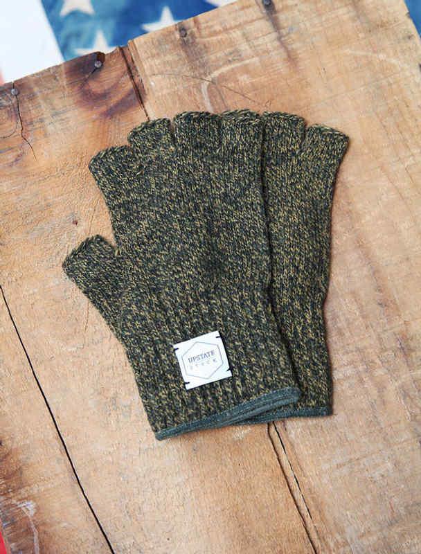 Upstate Stock guantes lana con y sin dedos-4