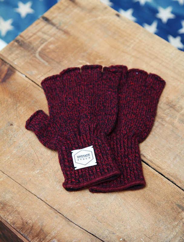 Upstate Stock guantes lana con y sin dedos-5