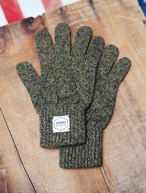 Upstate Stock guantes lana con y sin dedos-7