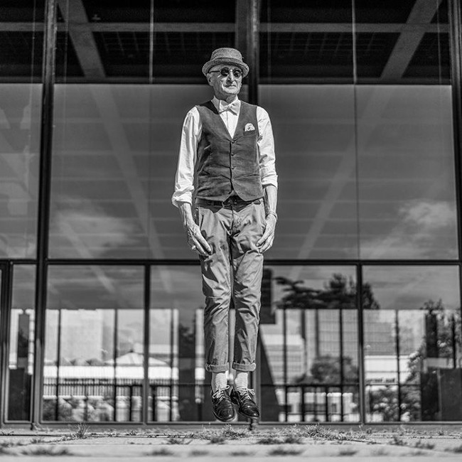 abuelo hipster berlín
