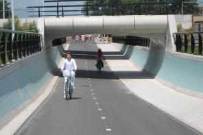El carril bici en Alemania alcanza una nueva dimensión, la autopista