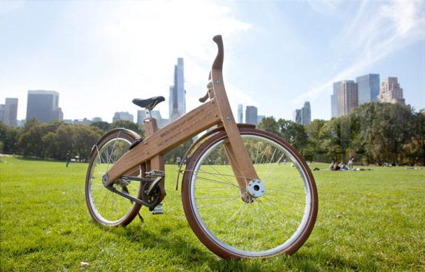 bicicletas de madera artesanales hechas en holanda -1