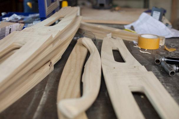bicicletas de madera artesanales hechas en holanda