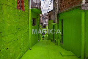 Las frases de Boa Mistura en la favela de Vila Brasilândia