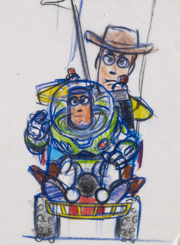 bob-pauley-i-woody-y-buzz-i-i-toy-story-i-1995-reproduccion-de-rotulador-y-lapiz-copy-disney-pixar