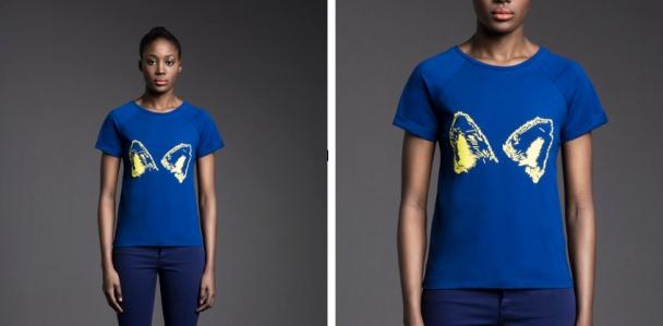 camiseta-azul-orejas-de-zorro