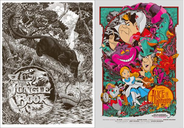 carteles de cine antiguos infantiles de películas disney1