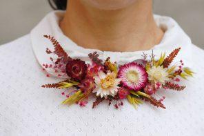 Arbolande nos trae los collares de flores naturales grandes para esta primavera
