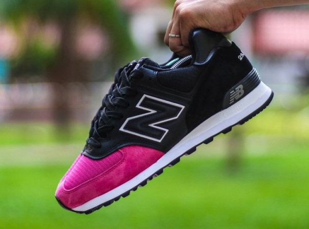 new balance con brillantes