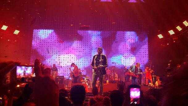 concierto arcade fire en londres 2014