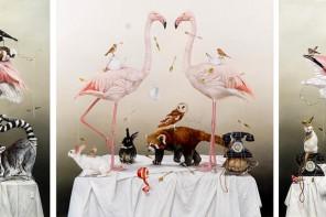 Los animales se convierten en los protagonistas de los bodegones de Kate Bergin