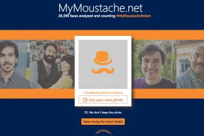 ¿Cuánto mide mi bigote? Microsoft se suma a Movember
