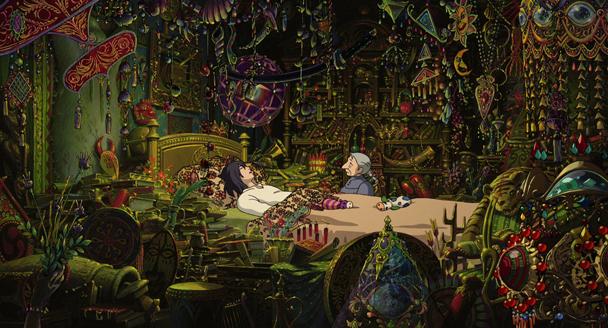 el castillo ambulante Hayao Miyazaki 1