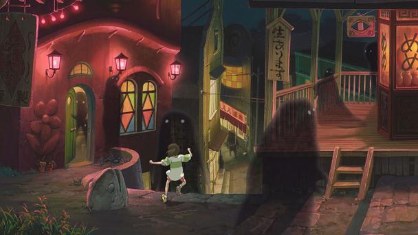 el viaje de Chihiro Hayao Miyazaki1