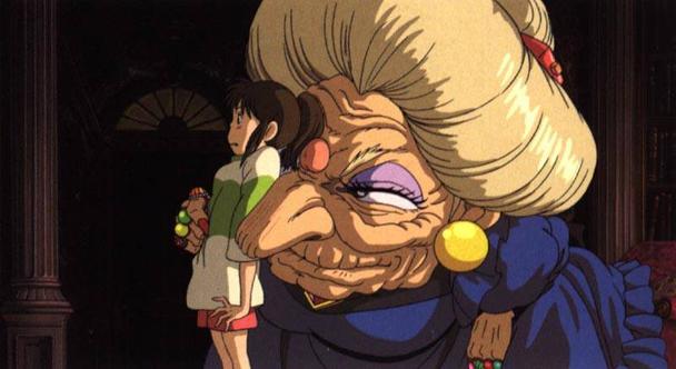 el viaje de Chihiro Hayao Miyazaki2
