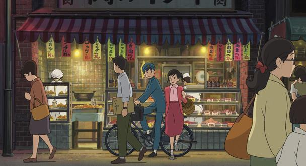 LA COLLINE AUX COQUELICOTS un film de Goro Miyazaki
