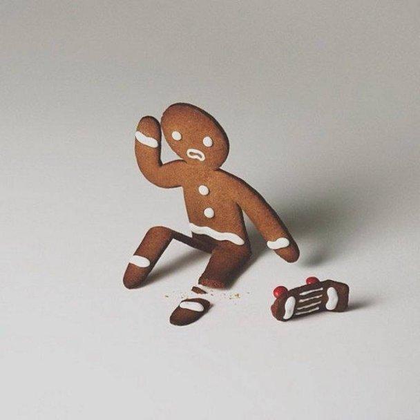 fotografía creativa con comida y juguetes-7