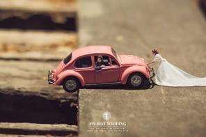 Fotógrafo de bodas tailandés crea mundos únicos y originales