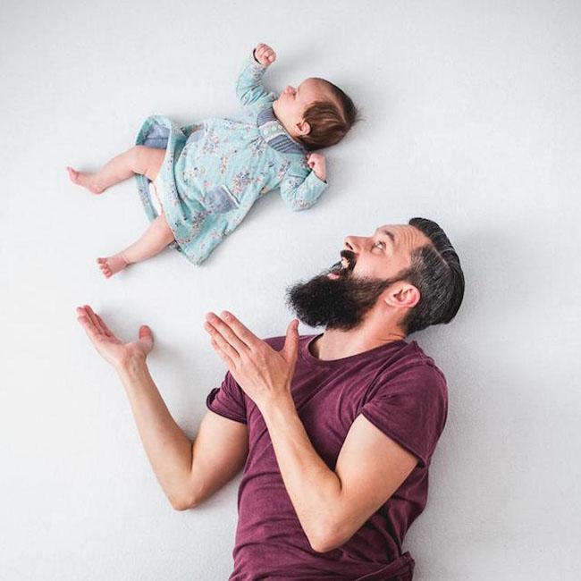 fotos bebé vuela 1