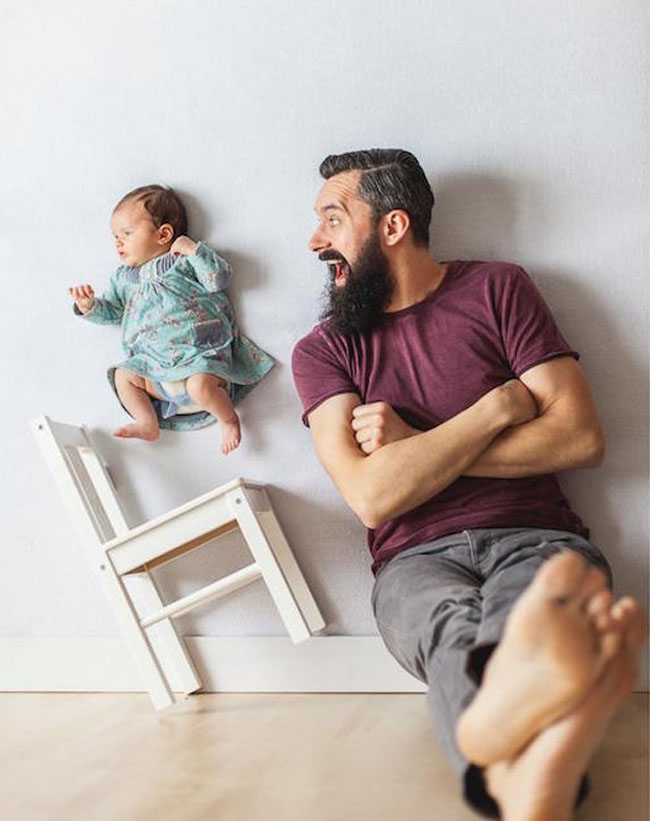 fotos bebé vuela 5