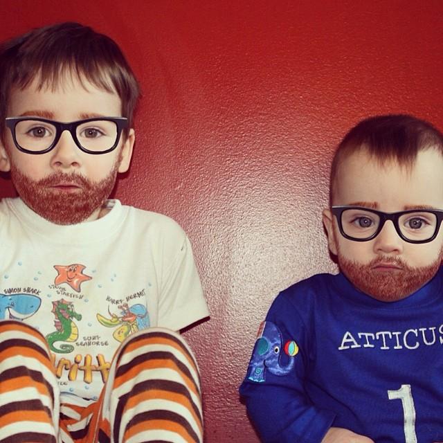 fotos niños con barba  10