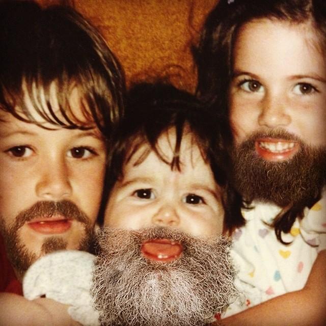 fotos niños con barba  11