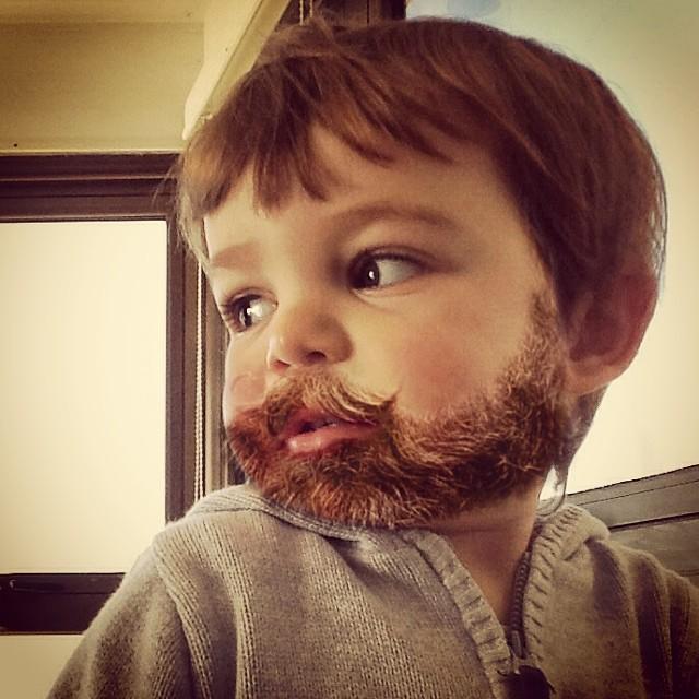 fotos niños con barba  7