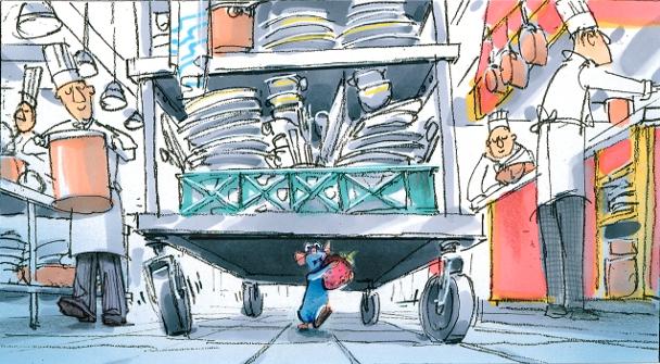 harley-jessup-i-huida-de-remy-de-la-cocina-i-i-ratatouille-i-2007-ilustracion-digital-copy-disney-pixar