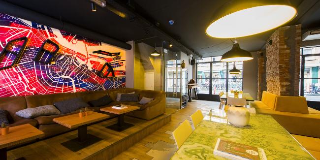 hotel más modernos de amsterdam city hub 5