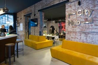 hotel más modernos de amsterdam city hub 6