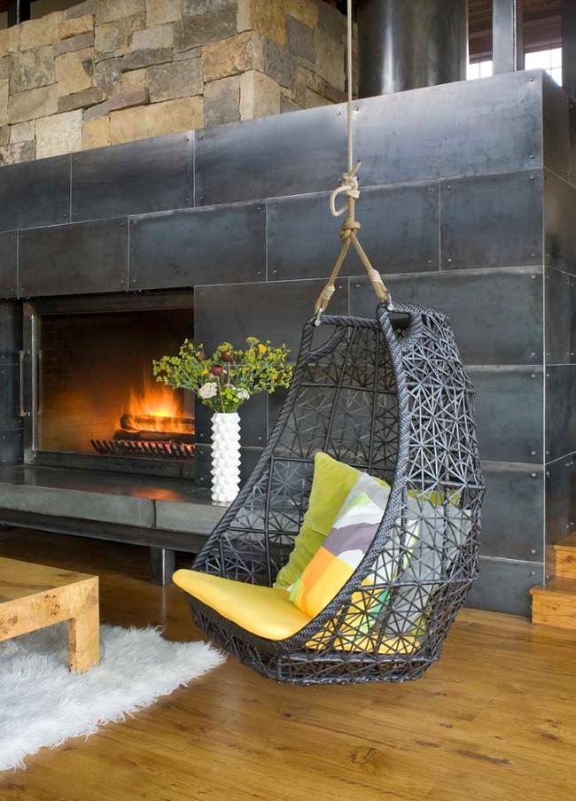 Ideas para colgar una hamaca dentro de casa
