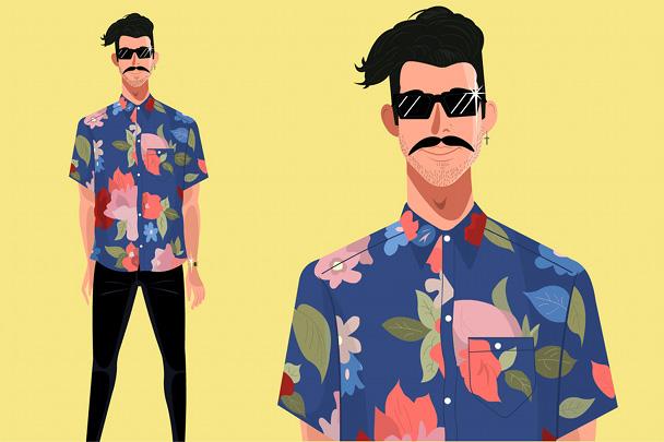 ilustraciones-hombres-hipster-con-barba-bigote-7