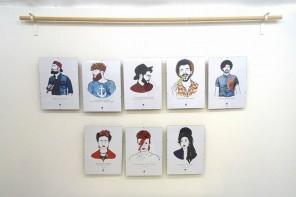 La magia de las ilustraciones retrato de El Loco del Pelo Rizo