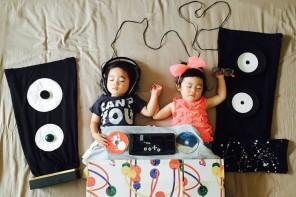 Los dulces sueños de los gemelos japoneses de @ayumiichi en Instagram