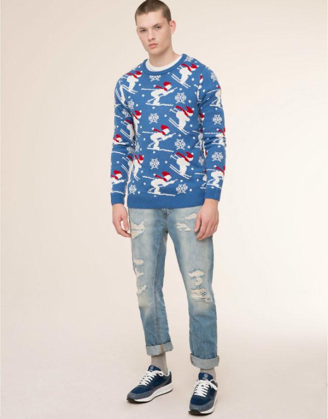 jersey navideño hombre