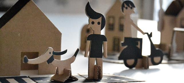 juguetes de cartón - 1