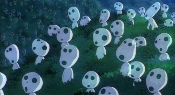 la princesa mononoke  Hayao Miyazaki1